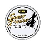 DUEL(デュエル) PEライン 0.6号 スーパーエックスワイヤー4 (Super X-wire 4) 150m 0.6号 S シルバー H3579-S