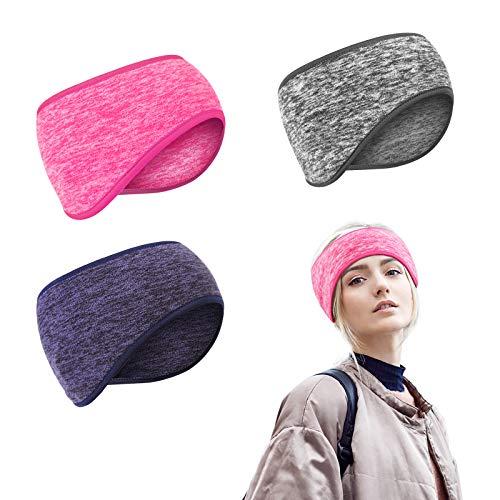 SEELOK 3Stk Wandern Stirnbänder Ski Ohrenwärmer Dehnbar Stirnband Fahrrad Ohrenschützer