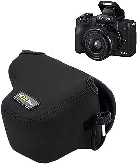 MPTECK @ Funda Cámara Reflex Neopreno Protectora para Canon EOS M50 y Objetivo de 15-45 mm