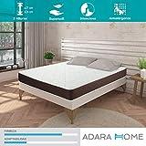 Adara Home Tempo - Colchón Viscoelástico 200x200, Altura 24cm