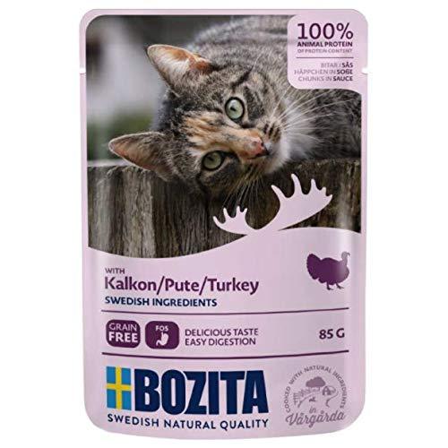 Bozita Chunks in Sauce Turkey Pouches 12 x 85g