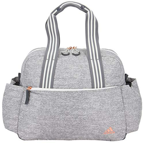 adidas Women's Sport To Street Tote Bag, Jersey Grey/Rose Gold, ONE SIZE
