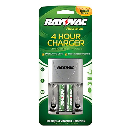 Rayovac 4 Position AA/AAA 4 Hour Value Charger, PS133-2B
