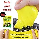9 Piezas Mágico Teclado Limpiador Sticky Gel Pad, elimina el polvo de...