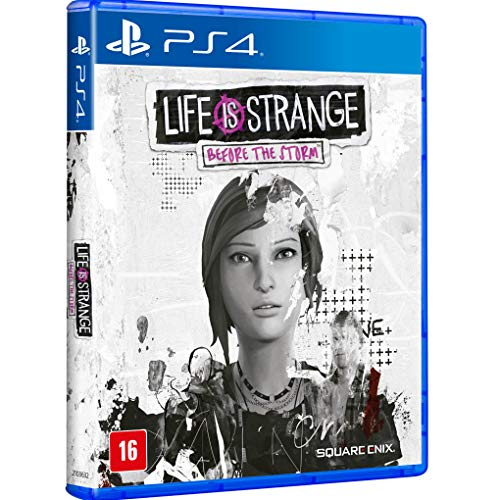 Life Is Strange: Before The Storm - Blu-ray - Ps4-padrão-playstation_4