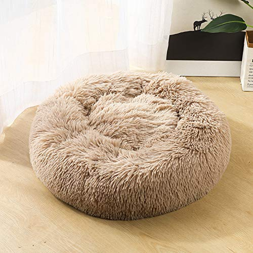 ShengStar Round pet seat cushion autumn and winter warm pet sofa comfortable skin-friendly material pet nest multi-color optional