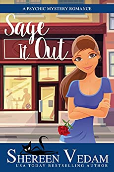 Sage It Out: a psychic mystery romance (Harrington Bay Mysteries Book 1) by [Shereen Vedam]