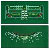Brybelly Blackjack and Craps Table Felt, 72