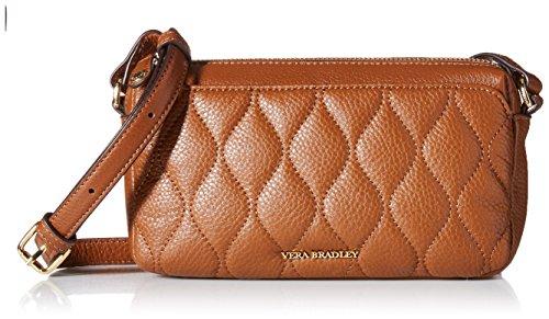 Vera Bradley Women's Quilted Sydney Crossbody Cognac One Size