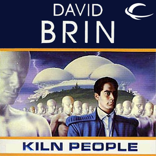 Kiln People audiobook cover art