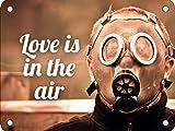 Wise Degree Love IS IN The AIRBar Cartel Club Pared Cocina Arte Cafetería Garaje Oficina Tienda Pub Decoración
