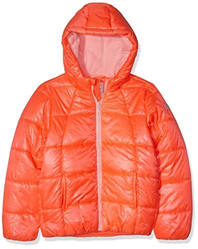 ESPRIT KIDS Mädchen Rp4201507 Outdoor Jacket Jacke, Rosa (Neon Coral 327), 164 (Herstellergröße: L)