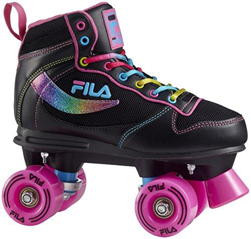 FILA Damen Vanity Black Roller Skate, Schwarz, 35