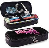 Estuche Papelería funcional Bolsas para bolígrafos de alta capacidad Estuche para maquillaje Bolsa para oficina escolar Caja portátil Nicki Minaj