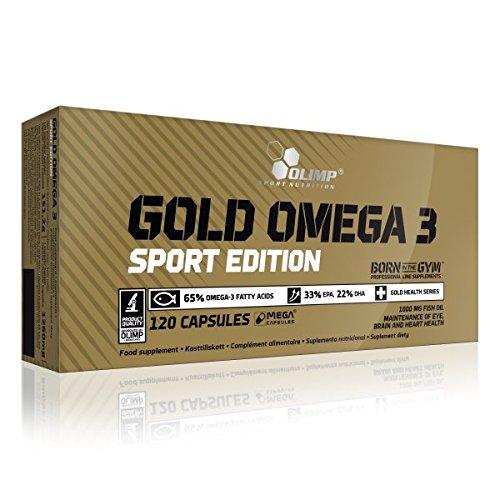 Olimp Gold Omega 3 Sport Edition- Doppelpack, 1er Pack (1 x 302 g)