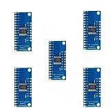 ICQUANZX 5Pcs 16CH módulo de Tablero de ruptura de multiplexor Digital analógico CD74HC4...