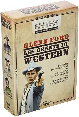 Coffret Glenn Ford 3 Films : jubal, l'homme de Nulle Part Le Souffle de la Violence Le déserteur de Fort Alamo
