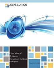 International Business: Competing in the Global Market Place by Hill, Charles W. L. 9th (ninth) Edition (2012)