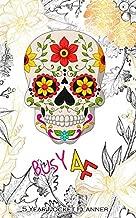 BUSY AF 5 YEAR POCKET PLANNER: Five Year Busy AF Monthly Pocket Planner and Calendar. Floral Sugar Skull Cover Design
