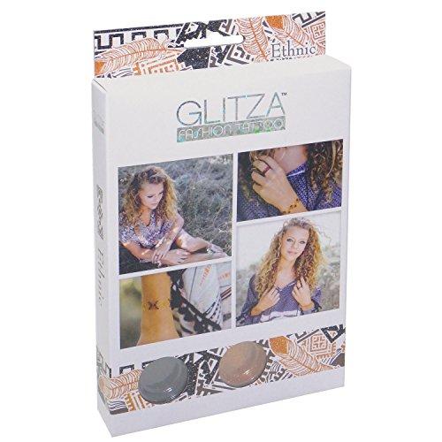 Glitza- Motifs pailletés à Coller Partout, 7811