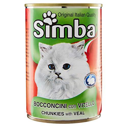 SIMBA Bocconcini per Gatto con Vitello, 415g