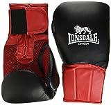 Lonsdale Performer Guantes de Boxeo, Todo el año, Unisex, Color Blanco/Rojo, tamaño 414 ml