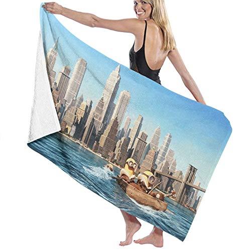 Minions Toallas de mano Toallas de microfibra Toallas de baño suaves absorbentes Toallas de mano multiusos para baño, hotel, gimnasio y spa Set toalla