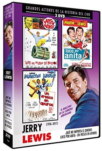 JERRY LEWIS DVD 3 DVDs Loco por Anita + Que Me Importa el dinero + Un fresco en apuros (Hollywood or Bust + It's Only Money + Hollywood or Bust )