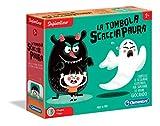 Clementoni - 16135 - Sapientino - La tombola scaccia paura, gioco educativo 3 anni - tombola per bambini con tessere illustrate - gioco da tavolo - Made in Italy