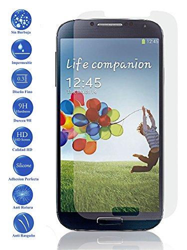 Todotumovil Protector de Pantalla Samsung Galaxy S4 i9505 de Cristal Templado Vidrio 9H para movil