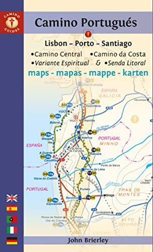 Brierley, J: Camino Portugues Maps (Camino Guides)