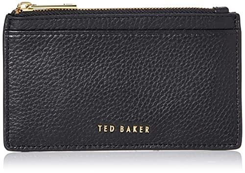 Ted Baker BRIELL, Accesorio de Viaje-Portatarjetas Tipo sobre para Mujer, Black, Talla única
