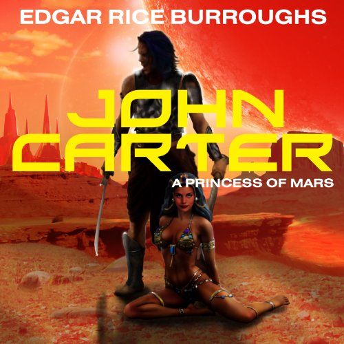 John Carter in 'A Princess of Mars' cover art