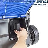 Hyundai 33cm Electric Lawnmower, 330mm Cutting Width, Rotary Lawn Mower, 1200W Corded Electric Mower, 30L Grass Bag, 3 Year Warranty, Foldable Handles, Lightweight & Easy Store
