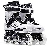 pattini a rotelle ottimo per principianti, pattini in linea per adulti confortevoli pattini a rulli a rotelle all-clandesting skate unisex per bambini e adulti ( color : normal , size : 38 )
