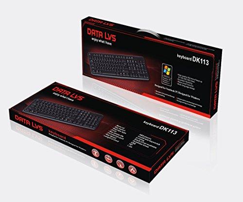 DATALVS Pack 2 Unidades Teclado USB con Cable