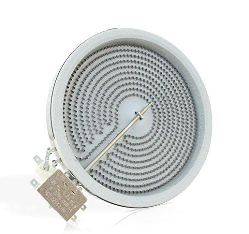 E.G.O 10.58111.004 HiLight Strahlungsheizkörper mit Ø180 mm und 1800 Watt EGO