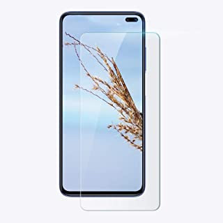 10PCS For Xiaomi Redmi K30 0.33mm 9H 2.5D Tempered Glass Film New(Clear) Dualn (Color : Clear)