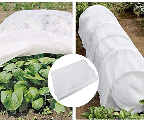 SUMTORY Plant Covers Winter Frost Blankets for Outdoor Plants Freeze Frost Protection 8.2×24.6ft