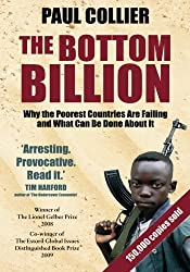 Cover of The Bottom Billion by Paul Collier