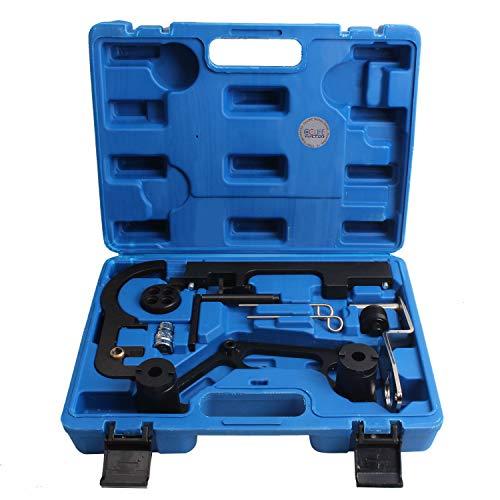CCLIFE Motor Einstellwerkzeug Nockwellen Arretierung Werkzeug Arretierwerkzeug Steuerkette Kompatibel mit BMW N47 N47S N57 N57S