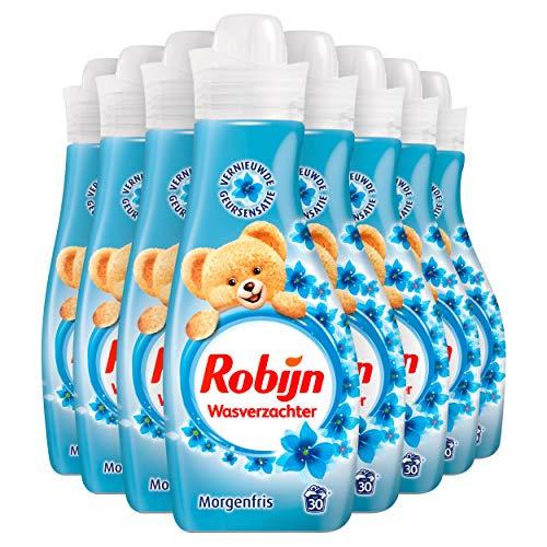 Robijn Morgenfris Wasverzachter - 240 wasbeurten - 8 x 750ml - Voordeelverpakking