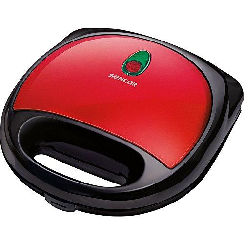 Sencor 41000360 - Sandwichera 700 W, color rojo y negro