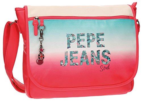 Pepe Jeans Nicole Mochila Escolar, 38 cm, 11.78 litros
