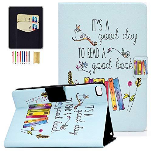 iPad Mini 5 Case 2019, iPad Mini 4 Case for Kids, APOLL Premium PU Leather Lightweight Anti-Slip Stand Smart Cover with Auto Sleep/Wake Feature for Apple iPad Mini 2/Mini 3/Mini 4/Mini 5, Book