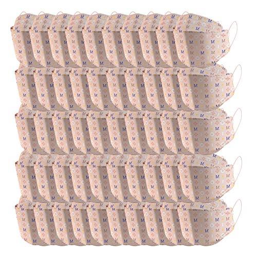 5 Capas Tela para Adultos Proteccion, 94 Unisex Estampado de Camuflaje Bufanda con Elástico para Los Oídos Bolsa para Trabajo Ciclismo Gimnasio Protección para Actividades al Aire Libre(E5-50pc)