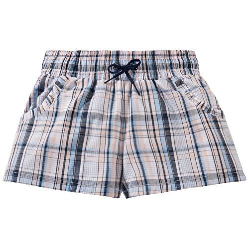 Schiesser Mädchen Mix & Relax Webshorts Schlafanzughose, Mehrfarbig (Multicolor 1 904), 152 (Herstellergröße: S)