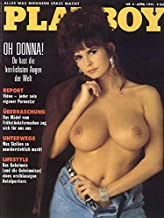 Playboy Germany April 1991 Adult Magazine, Playmate of the Month Deborah Driggs
