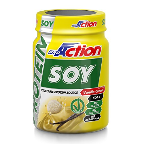 ProAction Protein Soy (Vanilla Cream) - Barattolo da 500 g