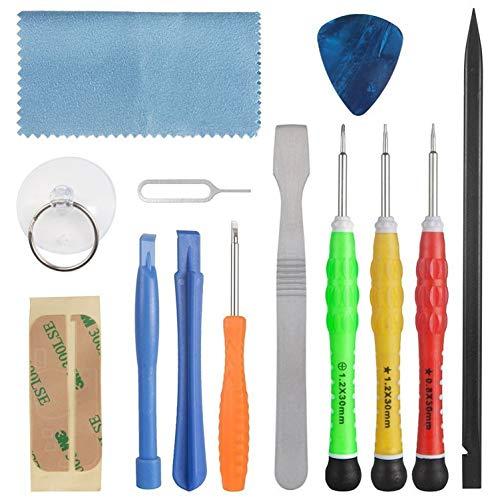 CCRALX 13 PCS Cell Phone Repair Tool Kit Phone/IPAD Opening Repair Tools Kit Pry Screwdriver